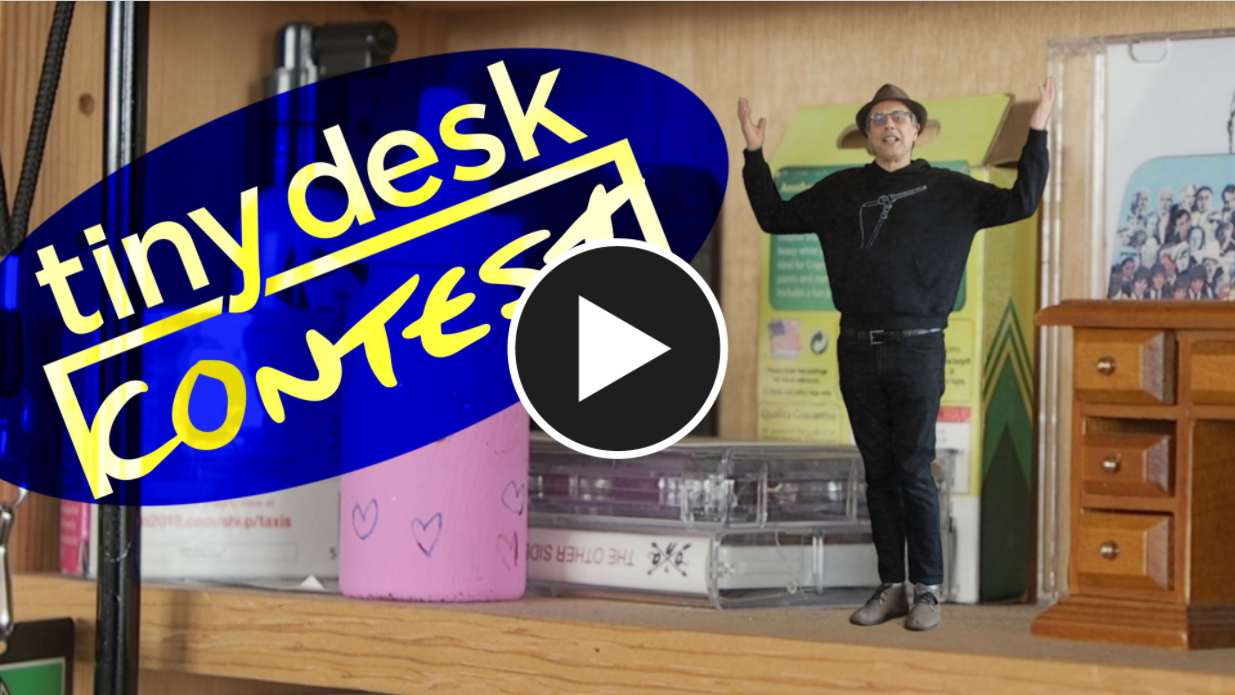Announcing the Tiny Desk Contest